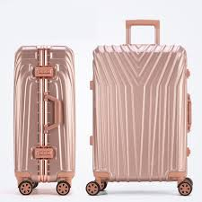 TUGUAN New Fashion Aluminum Frame Rod Suitcase 20/22/24/26 ...