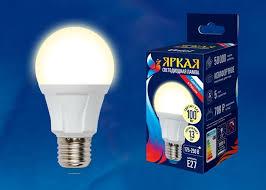 <b>Лампа</b> светодиодная <b>Uniel LED</b>-<b>A60 13W</b>/3000K/<b>E27</b>/<b>FR</b> — купить ...