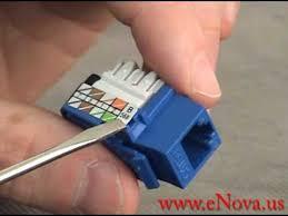 how to wire an rj jack how to wire an rj45 jack