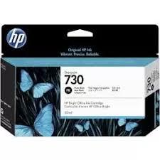 <b>HP 730</b> 130-<b>ml Photo</b> Black Ink Cartridge (P2V67A)