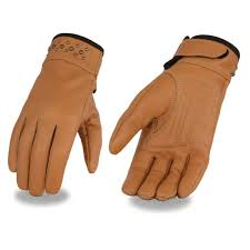 <b>Women's Leather Glove</b> w/ Gel Pam & <b>Rivet</b> Detailing – Milwaukeee ...