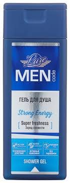 <b>Гель для душа Lure</b> Men code Strong En... — купить по выгодной ...