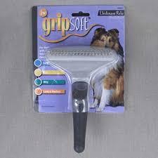 <b>Расческа</b>-<b>грабли</b> для собак, <b>JW</b> Grip Soft <b>Dog</b> Fouble Row ...