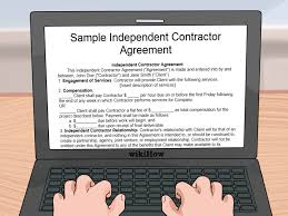 how to create a lancing contract sample agreement