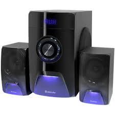 Акустическая 2.1 система <b>Defender X500</b> 50Вт, Bluetooth, FM/MP3 ...