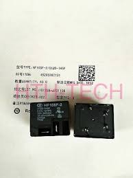 HF105F-<b>2</b>-012D-1HSF Power Relay <b>30A</b> 240VAC 4 Pins x <b>10pcs</b> ...