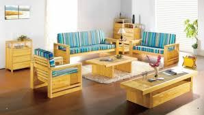 living room design light color wood natural idea soft carpet bright coloured furniture