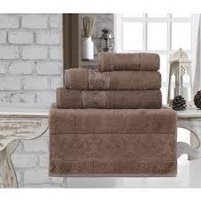 Купить <b>Полотенце Karna Pandora бамбук</b> 70x140 см коричневый ...