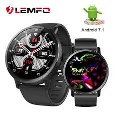 LEMFO LEM X <b>DM19</b> 4G <b>Smart Watch</b> Android 7.1 With 8MP ...