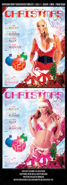 christmas night club party concert flyer by fadeink graphicriver christmas night club party concert flyer clubs parties events