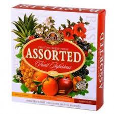 Купить чай Basilur <b>Фруктовые</b> коктейли <b>Ассорти</b> пакетированный ...