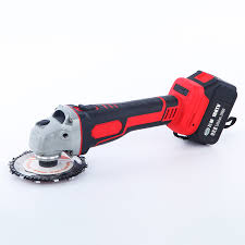 China <b>21V</b> Powerful 100mm <b>Cordless Brushless</b> 4ah <b>Battery</b> Angle ...