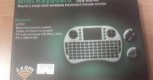 Mini Keyboard UKB-500-RF Review - My Tech Blog