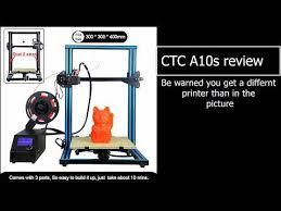 Real review of <b>ctc a10s</b> printer ( cr10 clone ) : 3Dprinting
