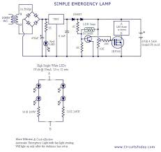 emergency light wiring diagrams wiring diagrams and schematics circuit diagram of emergency light zen