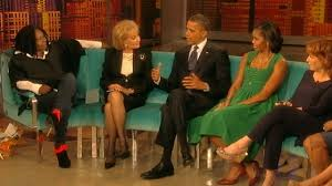 Obama to Work With Kids After Presidency, He Tells 'The View ...