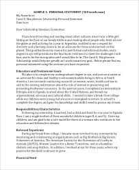 28+ Scholarship Essays Samples | Sample Scholarship Essays ...