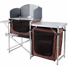 China <b>Outdoor Folding</b> Picnic Camping Kitchen <b>Table</b> Aluminum ...