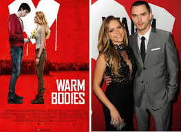 interview warm bodies co stars nicholas hoult and teresa palmer warm bodies