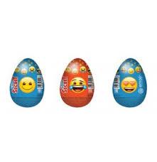 <b>Шоколадное яйцо EmoJi</b> с игрушкой 20 г купить в Волгограде