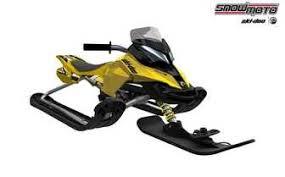 Детский <b>снегокат Snow Moto</b> Ski Doo MXZ-X Yellow 37009