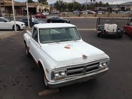 1969 Gmc Truck 1969 Gmc Chevrolet Short Bed Pickup Truck C10 Step Side Orig