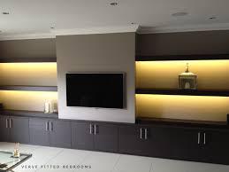 modern mounted tv wall bespoke wall storage