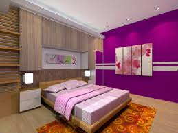 Simple Bedroom Wall Painting Bedroom Pretty Purple Bedroom Interior Design Purple Bedroom