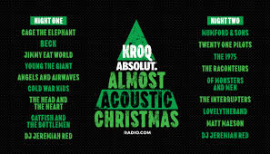 KROQ Absolut Almost Acoustic Christmas 2019 Night 2 | Honda ...