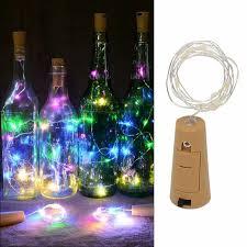 VicTsing <b>1M 10LED Wine</b> Bottle Cork Lights String Lights for ...