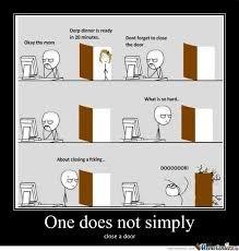 Rmx] Close A Door by bloodyx - Meme Center via Relatably.com
