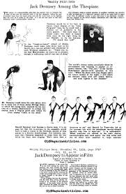 boxer jack dempsey in hollywood boxer jack dempsey acts in jack dempsey in silent movies motion picture news vanity fair 1919