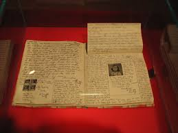 the diary of a young girl the humming notes anne frank diary at anne frank museum in berlin image credit anne frank diary