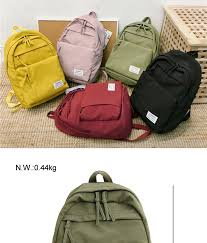 DCIMOR <b>Classic waterproof nylon women</b> backpack Large capacity ...
