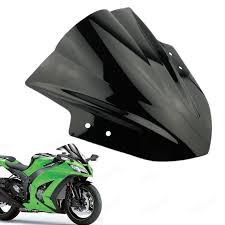 <b>Motorcycle</b> Windshield Windscreen <b>Double Bubble</b> for Kawasaki ...
