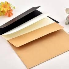 <b>10pcs</b>/pack 17.5x12.5cm <b>kraft</b>, white, or black paper Envelope ...