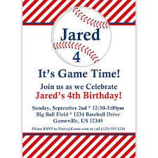 baseball birthday party invitations net exclusive baseball birthday party invitations theruntime birthday invitations