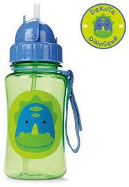 Купить <b>Поильник</b> с трубочкой <b>SKIP HOP Zoo Straw</b> Bottle, 350 мл ...