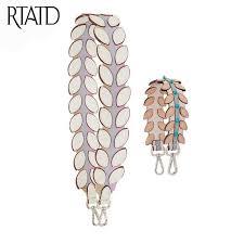 RTATD <b>New</b> Genuine <b>Leather</b> Women Bag <b>Strap</b> Easy Matching ...