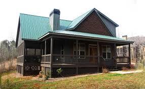 Small Story bedroom cabin   wraparound porchsmall lake or mountain cabin   porches stone