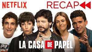 <b>La Casa De Papel</b> (<b>Money Heist</b>) Cast Recaps Seasons 1 & 2 ...