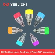 Оригинальная умная Светодиодная лампа <b>Xiaomi Yeelight</b> Blue II ...