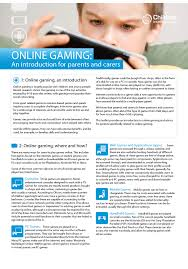 online gaming an introduction for parents and carers newquay able pdf version here