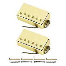 Amazon.com: FLEOR <b>Alnico</b> V <b>Electric Guitar Humbucker Pickup</b> Set ...