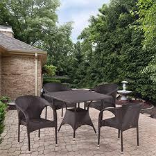 <b>Комплект мебели Афина T</b> 190 BD/Y 290 B-W 52 Brown 4Pcs ...