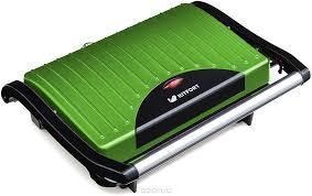<b>Бутербродница Kitfort</b> КТ-1609-3 <b>Panini Maker</b>, Green — купить в ...