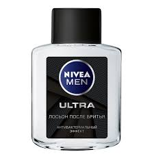 <b>NIVEA</b> MEN <b>Лосьон п</b>/<b>бритья Ultra</b> 100мл(Beiersdorf):6/24   Магнит ...
