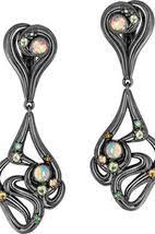 Купить женские <b>серьги</b> из черненого серебра на StyleTopik