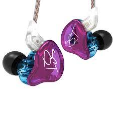 AK Original <b>KZ ZST</b>/ZSTX <b>Colorful BA</b>+DD In Ear Earphone Hybrid ...