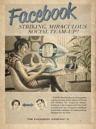 facebook vintage advertisement designed by advertising agency moma anti advertising agency office